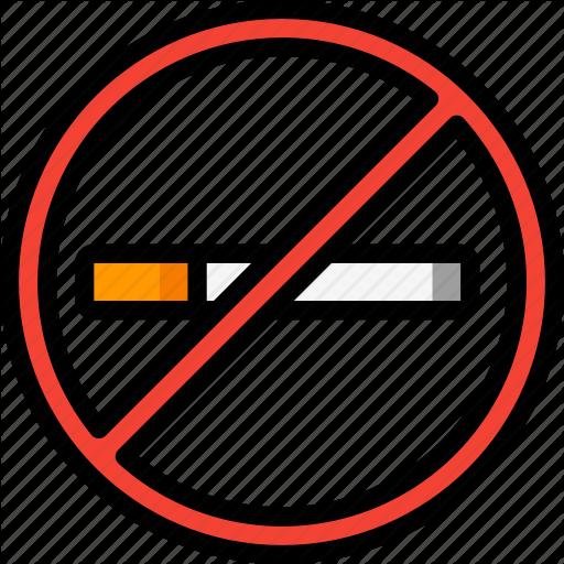 Cigerettes, Fags, Fitness, Health, No, Quit, Smoking Icon