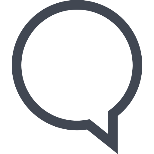 Chat Speech Bubble Png Icon