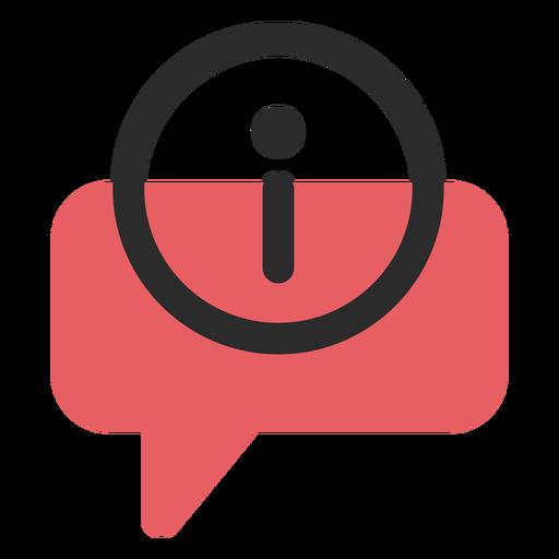 Info Speech Bubble Contact Icon