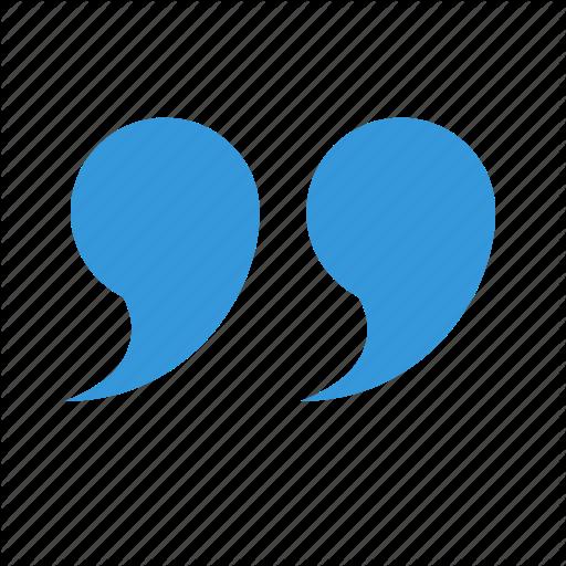 Bubble, Left, Quote Icon
