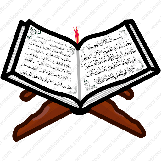 Download Book,islam,holy,quran,holy Quran Icon Inventicons