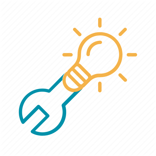 Development, Idea, Manufacture, Monkey Wrench, R D Icon