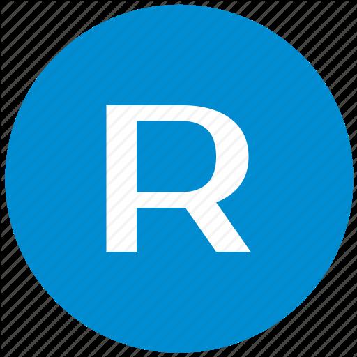 Key, Latin, Letter, R Icon