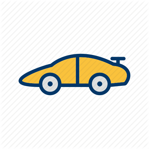Car, Race, Vehicle Icon