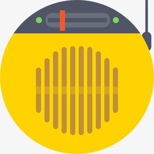 Radio Icon, Radio Clipart, Radio, Hand Painted Png Image