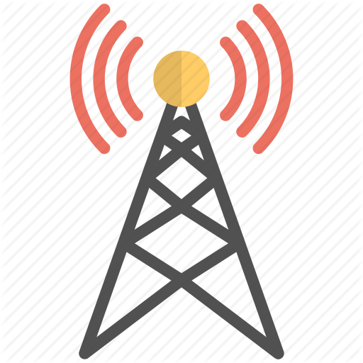 Broadcast Tower, Communication Tower, Internet Signals, Signals
