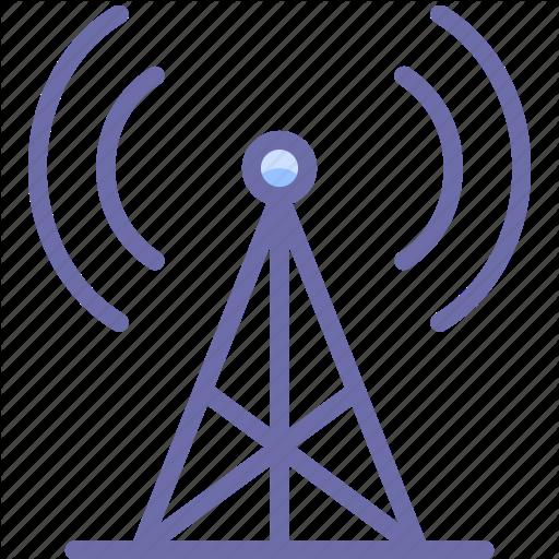 Communication, Radio, Tower Icon