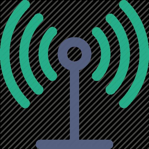 Communication Tower, Radio Tower Icon Icon
