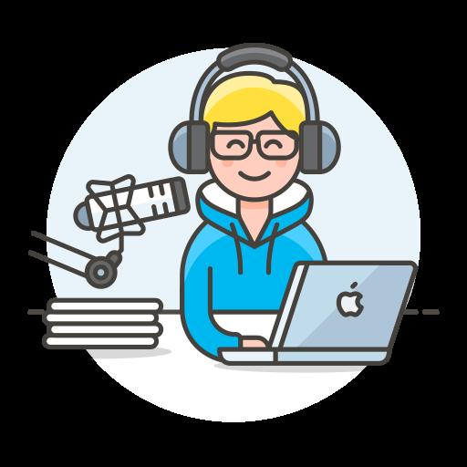 Radio Host Icon Streamline Ux Free Iconset Streamline Icons