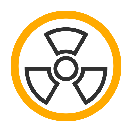 Radioactive, Frame, Linear Icon Free Of Snipicons Linear