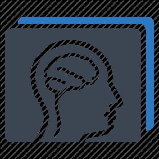 Brain, Head, Neuroradiology, Radiology Icon