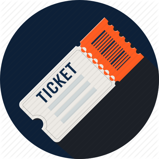 Cinema, Concert, Entry, Fare, Movie, Raffle, Ticket Icon