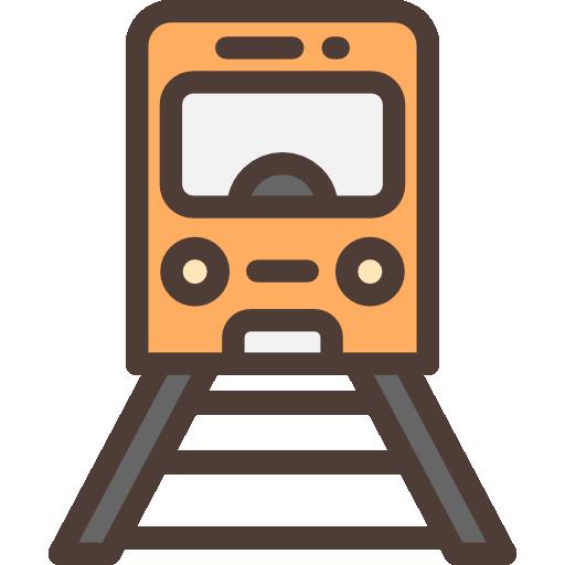 Railway, Train, Railroad Icon