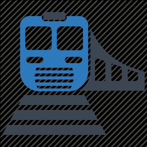 Rail, Railroad, Railway, Subway, Train, Transportation Icon