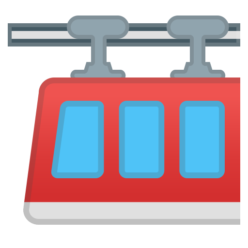 Suspension Railway Icon Noto Emoji Travel Places Iconset Google