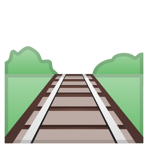 Railway, Track Icon Free Of Noto Emoji Travel Places Icons