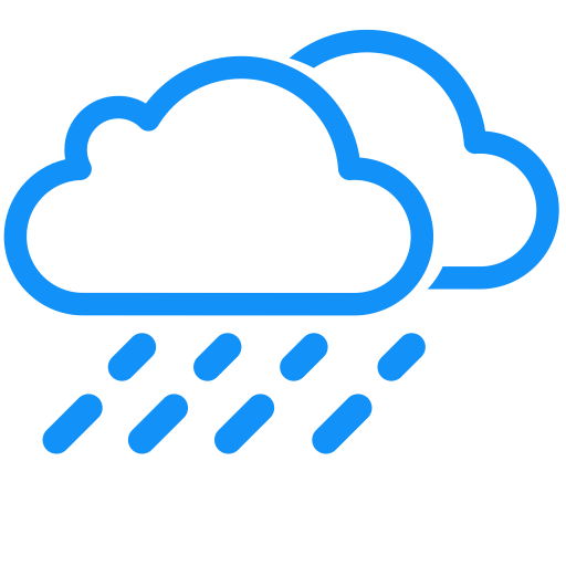 Weather Icon Transit Rain, Weather Icon Png And Vector For Free