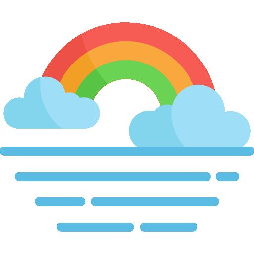 Rainbow Icon Weather Freepik