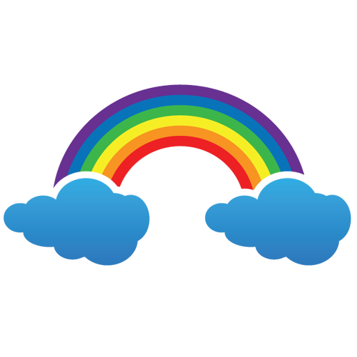 Rainbow Youtube Icon Logo Png Images
