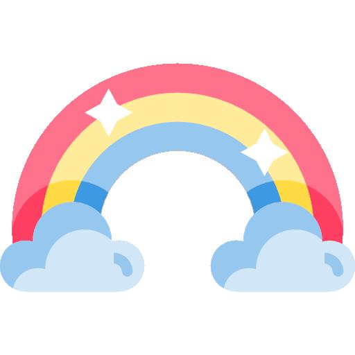 Rainbow Free Vector Icons Designed