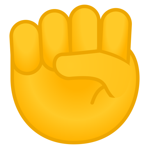 Raised Fist Icon Noto Emoji People Bodyparts Iconset Google