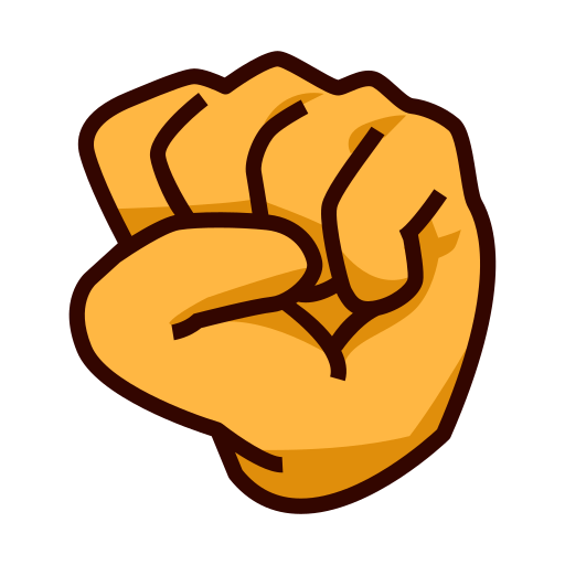 Raised Fist Emoji For Facebook, Email Sms Id