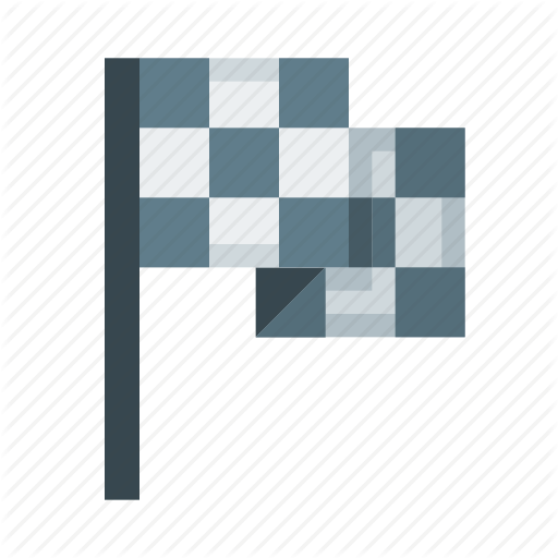 Car, Drive, Finish, Flag, Race, Rally Icon