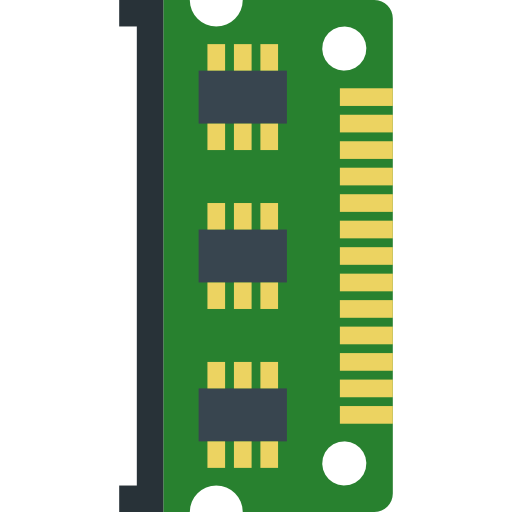 Technology, Processor, Cpu, Ram Memory, Chip, Electronic Icon