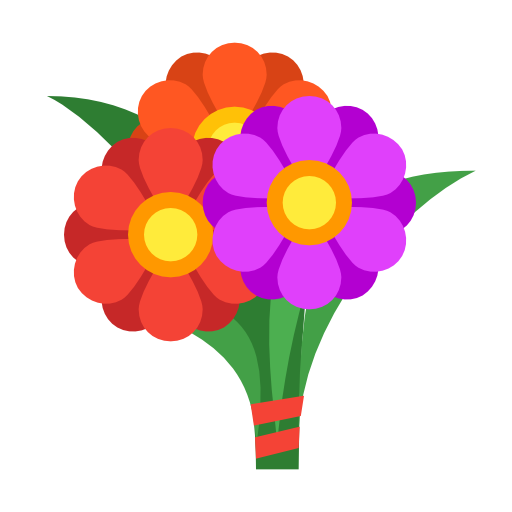 Bunch, Flowers, Bouquet Icon Free Of Cinema Icons