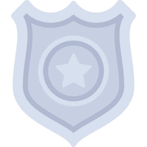 Police Badge, Ranger, Symbol, Signs, Sheriff, Security Icon
