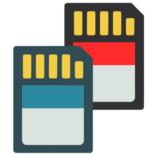 Rapid, Photo, Downloader, Sd, Cards Icon Free Of Super Flat Remix