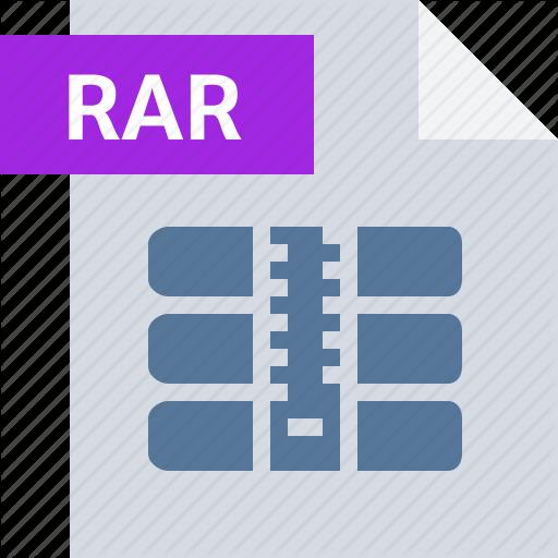 Archive, Extension, File, Folder, Rar, Type Icon