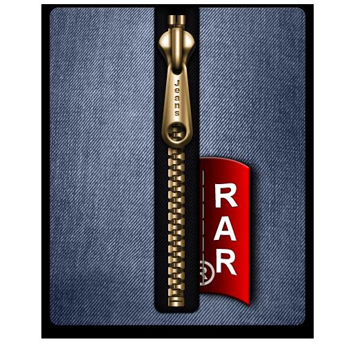 Blue, Gold, Rar Icon