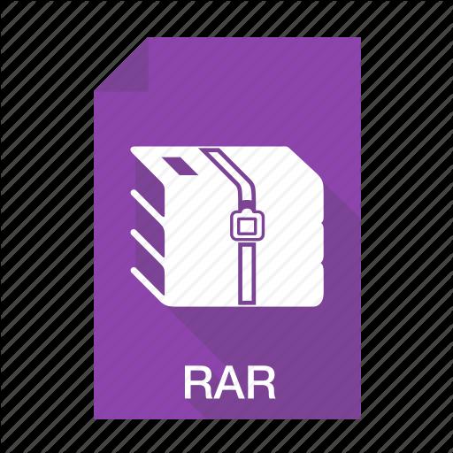 Compressed, Extension, File, Files, Rar Icon