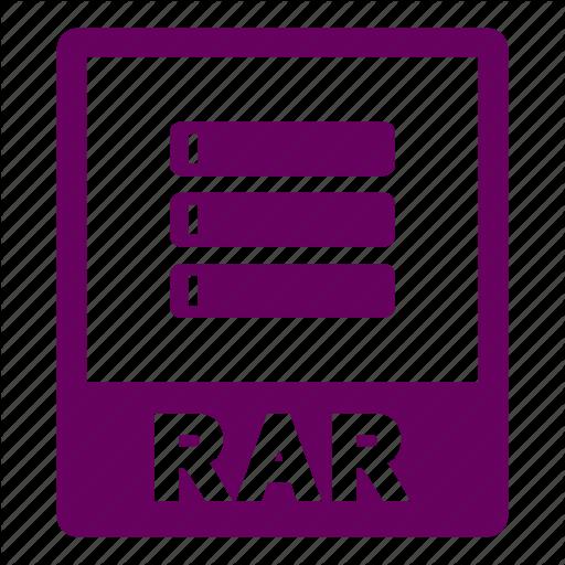 Document, Extension, File, Format, Rar, Rar Icon