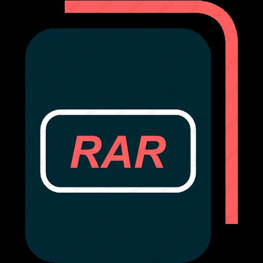Download File,type,rar,compressed,archive Icon Inventicons
