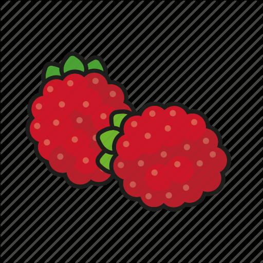 Food, Fresh, Fruit, Raspberries, Raspberry Icon
