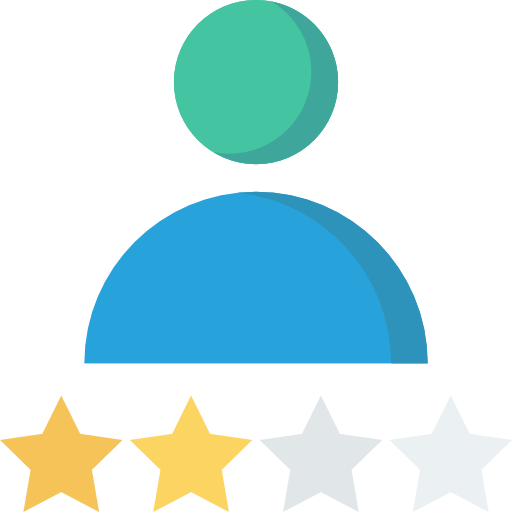 Rating Icon Seo And Marketing Dinosoftlabs