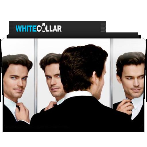 White Collar Tv Folder Icon