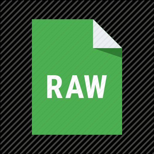 , Format, Image, Photo, Raw, Raw Icon