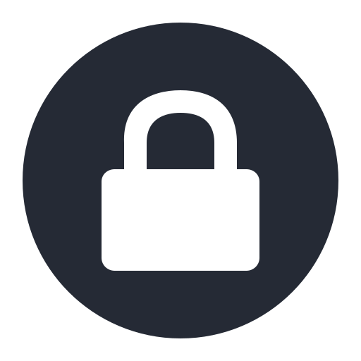 Read Only, Locked, Lock, Security Icon Free Of Embems Icons
