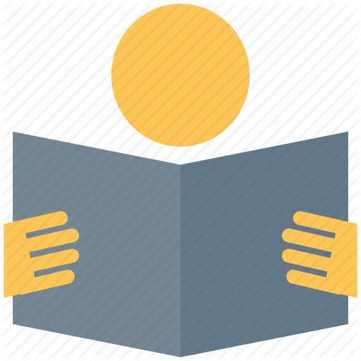 Book, Education, Reader, Reading, Reading Book, Studying Icon