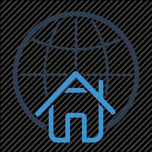 Home Loan, Man, Real Estate, World Icon