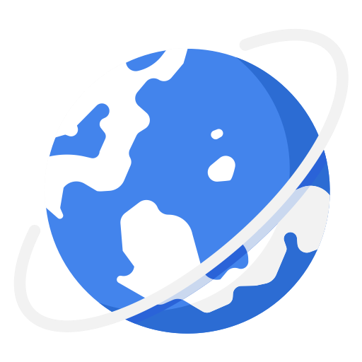Globe, International, World, Business, Work Icon