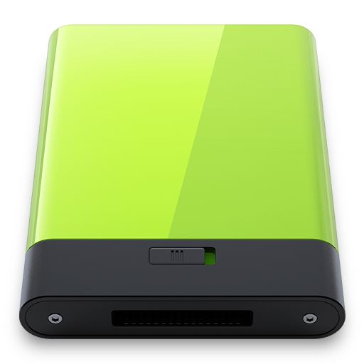 Green Icon Hyper Realistic Hd Iconset