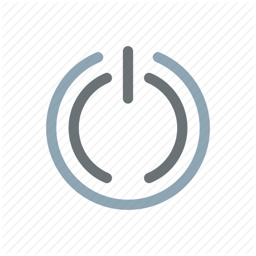Exit, Off, On, Power, Reboot, Restart, Settings Icon