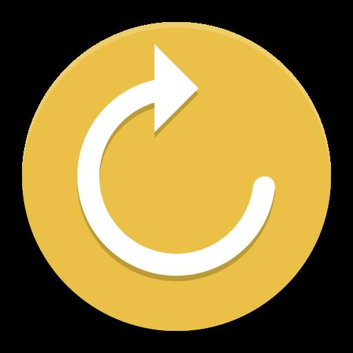 System Reboot Icon Papirus Apps Iconset Papirus Development Team