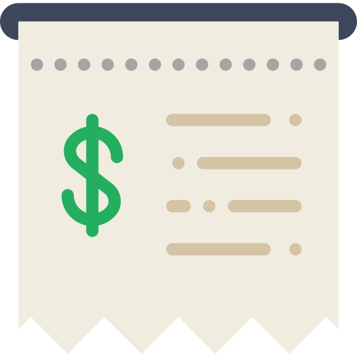 Receipt Png Icon