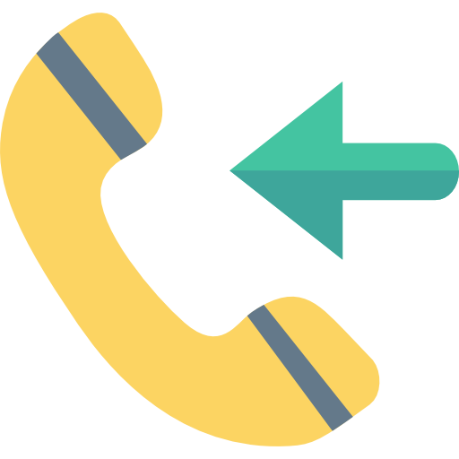 Call Receive Icon Network And Communications Dinosoftlabs