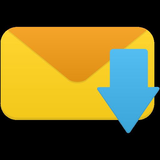 Email Receive Icon Flatastic Iconset Custom Icon Design